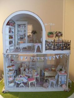 A tea room