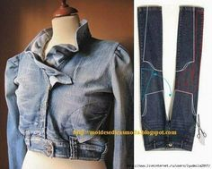 Jeans to jacket