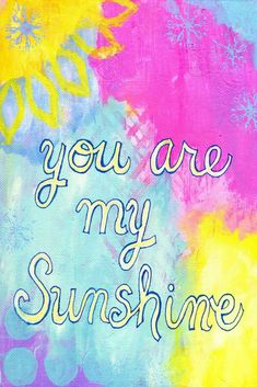 Painting Prints, Art Prints, You Are My Sunshine, Canvas Artwork, Wrapped Canvas, Cards, Hobbies, Art Impressions, Art On Canvas