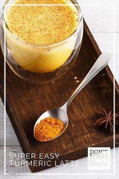 Super Easy Turmeric Latte Recipe (Golden Milk Drink)   Make Ahead Instant Latte Mix