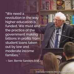 Democrats like Bernie Sanders understand how to make America stronger.