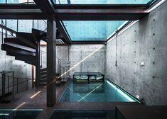 垂直玻璃宅 vertical glass house by 非常建筑 Atelier FCJZ - 灵感日报