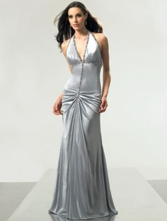 Silver gown by ME Prom SR1413 at frenchnovelty.com