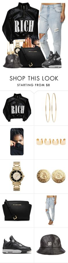 """""""CC RICH"""" by oh-aurora ❤ liked on Polyvore featuring Cotton Candy, Jennifer Meyer Jewelry, Maison Margiela, KEEP ME, Michael Kors, Givenchy, Zephyr, Retrò and Chanel"""