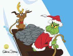 Dr. Seuss - I Hate Christmas - Maglietta Ufficiale da Donna The Grinch