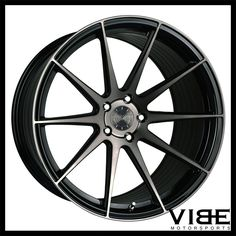 """20"""" VERTINI RF1.3 FORGED MACHINED CONCAVE WHEELS RIMS FITS FORD MUSTANG GT #Vertini #rf1.3 ford #mustang #gt #wheels #concave #vibemotorsports"""
