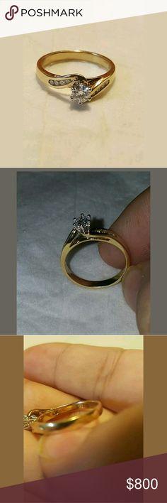 💎DIAMONICE Double Rings Handmade in Guadalajara MX🇲🇽 Coated in