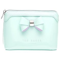 502c1e10e21d Gushing over this adorable, pastel pink cosmetics bag. Just can't ...
