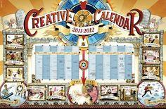 Leo Burnett France: Creative calendar