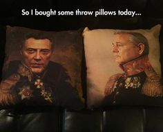Funny pictures about Classiest Pillows Ever. Oh, and cool pics about Classiest Pillows Ever. Also, Classiest Pillows Ever photos. Daily Funny, A Funny, Funny Posts, Funny Stuff, Funny Things, Hilarious, Memes Humor, Funny Memes, Funny Picture Gallery