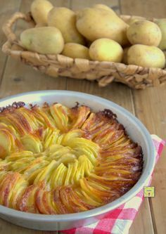 torta di patate arrostite e scamorza gp