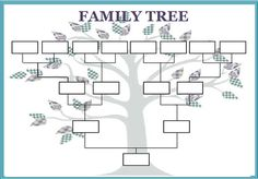 195 best family tree template images on pinterest family tree best photos of large blank family tree template printable family tree template kids generation family tree template and generation family tree template maxwellsz