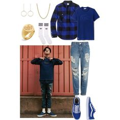 g d r a g o n f o r 8 s e c o n d s by catezovi on Polyvore featuring Topshop, adidas Originals, Vans, BaubleBar and Lacoste