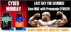 After a successful Black Friday campaign, #HGH.com has also a #CYBERMONDAY discount code running with 20% off everything!  http://www.wowcouponsdeals.com/coupons/hgh-cyber-monday-20-off-coupon/