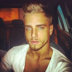 marry me and make beautiful blue eyed babies with me, mr mystery man!! HEAVEN  ;-)