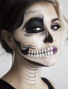 Sexy Half Skeleton Tutorial - Joanne Carls