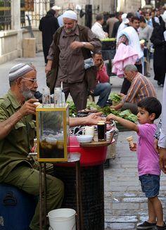 Streets of Aleppo Syria