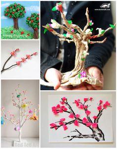 6 Vibrant Spring Tree Crafts