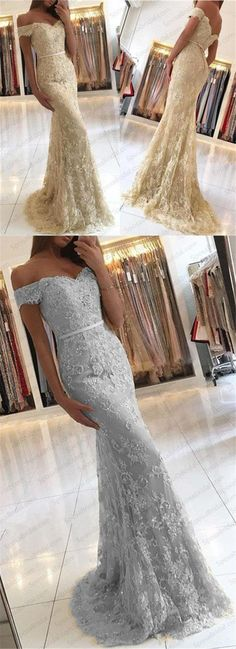 charming mermaid off the shoulder prom dress lace evening dress long prom dress,HS123 #moddress #promdresses #fashion #shopping #dresses #eveningdresses