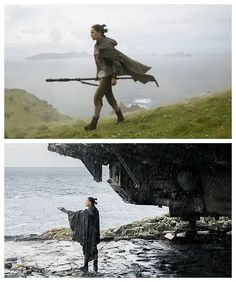 Daisy Ridley as Rey in Star Wars: The Last Jedi (2017)
