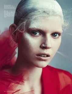 Ola Rudnicka by Boe Marion for Vogue Netherlands April 2014 7