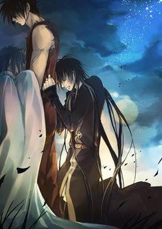 Pegasus Tenma | Sasha (Athena) | Alone (Hades)