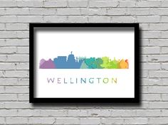 Cross Stitch Pattern Wellington City New by ZGCROSSSTITCHPATTERN