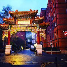 #chinatown in #manchester grossartige Stadt vor allem für #fussballfans und #shoppingqueens der einzige Nachteil ist das britische Wetter