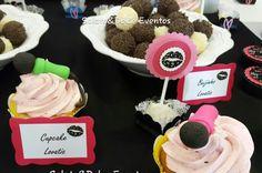 Cupcakes microfone Lovatic