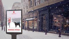 """Popatrz na mój projekt w @Behance: """"Christmas poster with french bulldog"""" https://www.behance.net/gallery/59605393/Christmas-poster-with-french-bulldog"""