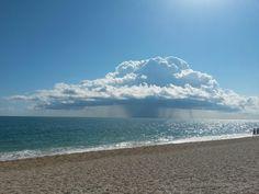 The tempest on the sea. Numana, Italy