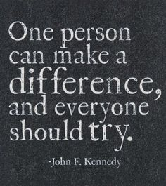 Make A Difference Quotes Httpmediacacheak0.pinimg236X276411 .