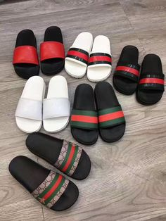Gucci man shoes casual slippers slides