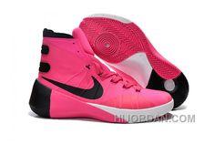 Nike Hyperdunk 2015 Hyper Pink Black White Training Shoes Clearance Sale, cheap  Hyperdunk If you want to look Nike Hyperdunk 2015 Hyper Pink Black White ...