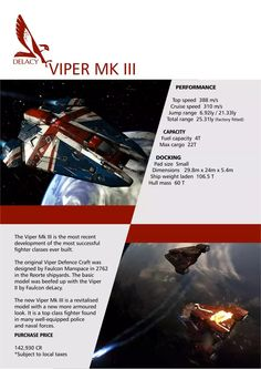 Elite: Dangerous Falcon DeLacy Ship Brochure - Imgur