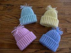 "Preemie Stocking Cap free crochet pattern - 9"" circumference"
