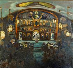 Many Mercies: Pascha at St. John painting