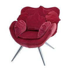 """Chair in the style of the """"Rose chair"""" by Edra, designed by Masanori Umeda, 1990s"""