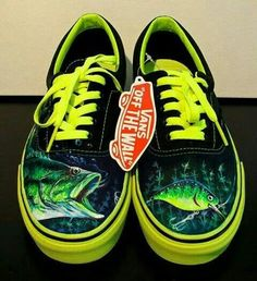 Bass Fishing Vans Shoes