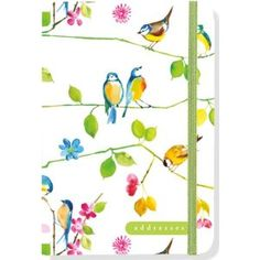 Peter Pauper Press watercolour birds address book