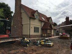 On Site - Border Oak - oak framed houses, oak framed garages and structures.