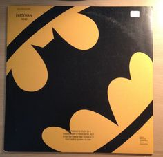 "Prince Partyman 1989 Maxi Single 12"" LP 4 track Record Batman Soundtrack PROMO"