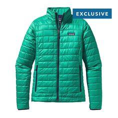 Patagonia Women\'s Nano Puff\u00AE Jacket - Emerald EMRD