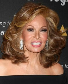 raquel welch, 75 years old...looks atleast 15 years younger.