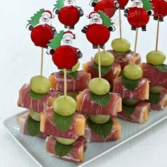 Prosciutto Wrapped Melon | Food to gladden the heart at RotiNRice.com