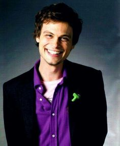 Matthew Gray Gubler with a smile that will melt your heart.
