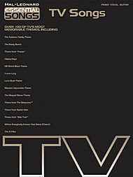 Hal Leonard Essential Songs - TV Songs Piano, Vocal, Guitar Songbook