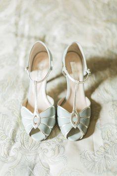 Brautschuhe, High Heels, mint, Hochzeitsschuhe, farbig, vintage, Hochzeit
