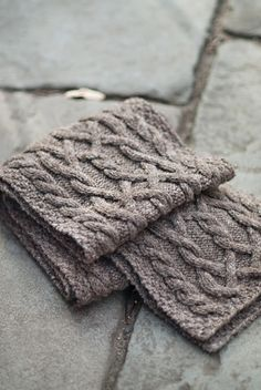 Cable scarf by Jared Flood. I am turning into a Brooklyn Tweed harlot: any pattern, any time, anywhere.