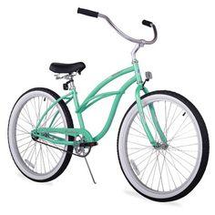 "Beachbikes Girl's 24"" Urban Lady Beach Cruiser Bike & Reviews   Wayfair"